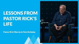 Lessons from 60 Years of Friendship with Jesus with Rick Warren & Tom Holladay