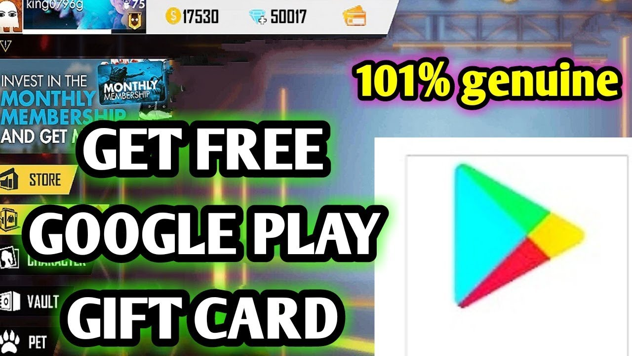 How to get free google play gift card || How to get Google ...