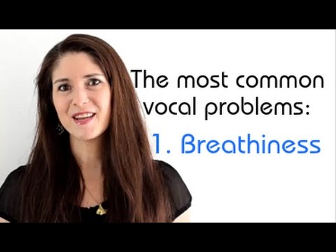 Freya's Singing Tips: The Most Common Vocal Problems - 1: Breathiness
