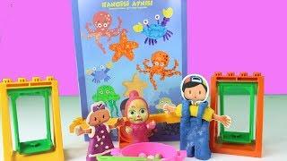 Pepee Bebe Ve Maşa Parka Gidiyor Oyun Oynuyor Eğlenceli Çizgi Filmler