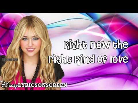 Hannah Montana - Love That Let's Go ft. Billy Ray Cyrus (Lyrics Video) HD.mp4