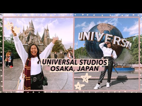 Universal Studios Japan & Wizarding World Of Harry Potter!   Osaka Travel Vlog