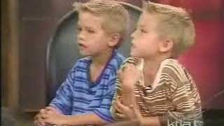 KTLA Cole and Dylan Sprouse Interview