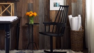 Interior Design – How To Wow With Wood Walls
