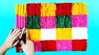 2 Super Ideias para fazer Tapetes