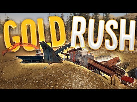 Gold Rush - The Largest Gold Mining Operation! - New Mine Si