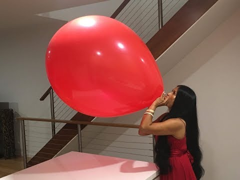 Giant Red Balloon 🎈 My Biggest Balloon Ever!!