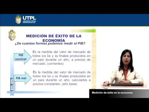 UTPL MEDICIÓN DE ÉXITO EN LA ECONOMÍA [(ECONOMÍA) (MACROECONOMÍA)]