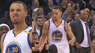 Stephen Curry Buzzer Beater 3! Durant Dunks on Jordan! Clippers vs Warriors