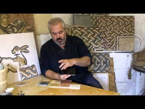 Colours in Roman mosaics