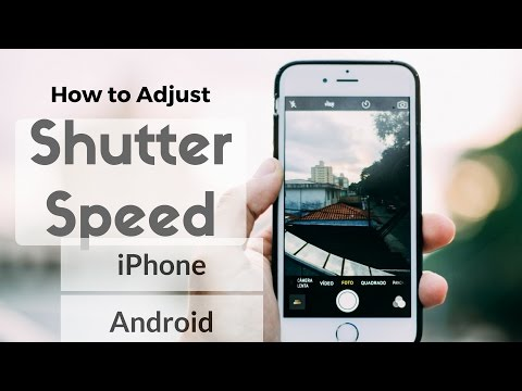 Top 3 apps to adjust shutter speed in your smartphone in 2016.