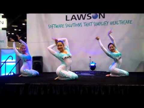 lawson software at himss event