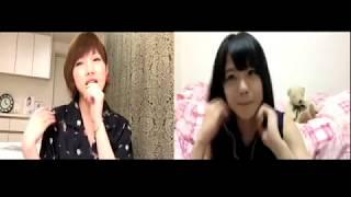 【AKB48】170619 showroom 岡田奈々x瀧野由美子 瀬戸内の声.