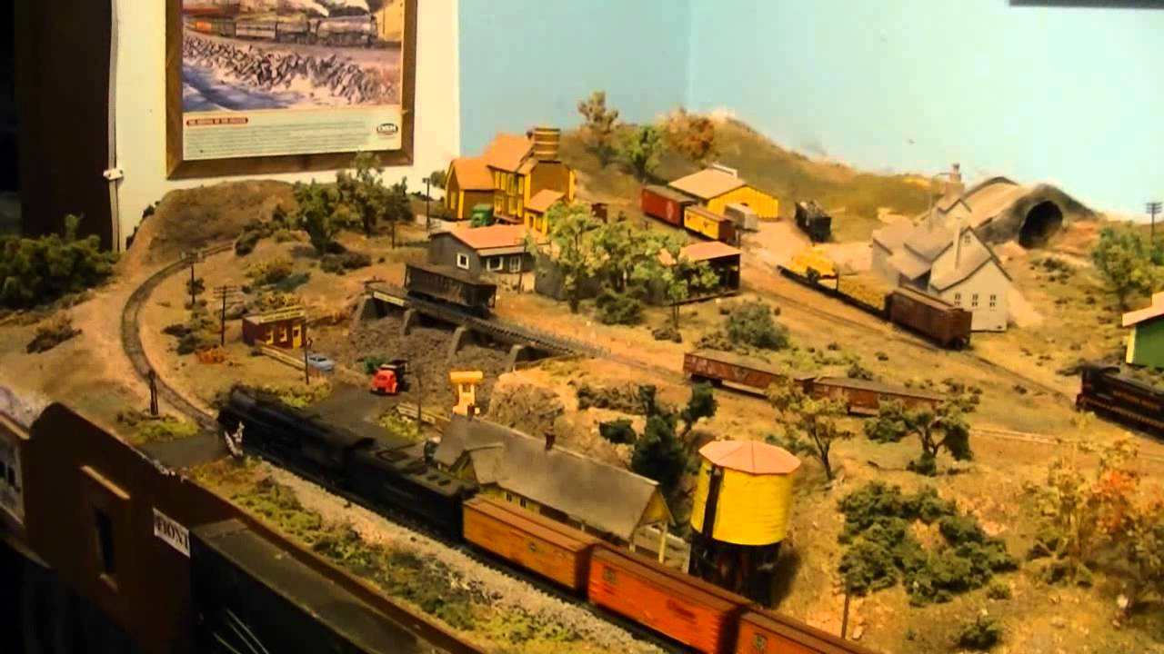 Buzz olearys n scale youtube - Ho train layouts for small spaces image ...