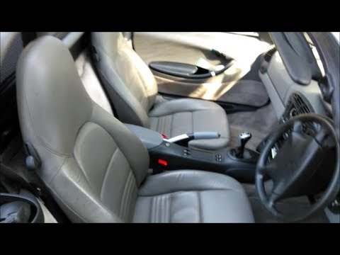 Porsche Boxster Fitting Leather Seats Youtube