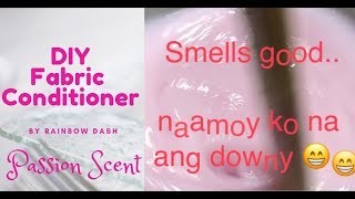 How to Make Fabric Conditioner - DIY