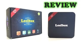 Leelbox Q1 TV Box REVIEW - RK3229, 1GB RAM, 8GB ROM, Android 5.1