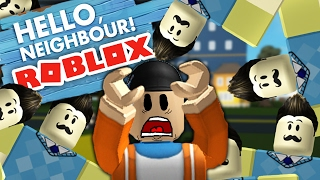 THE WORST HELLO NEIGHBOR GAMES IN ROBLOX! ⚫ Roblox Hello Neighbor Gameplay