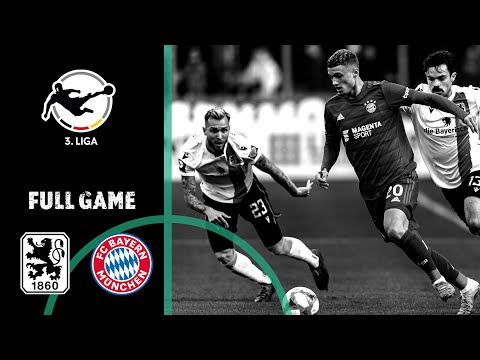 1860 Munich Vs. FC Bayern Munich II 1-1 | Full Game | 3rd Division 2019/20 | Matchday 16
