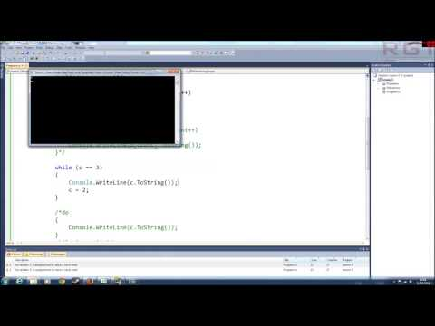 C# Programming Basics Part 3 - Loops and Conditional Statements