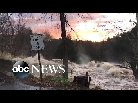 Powerful, deadly storms create state of emergency in Northeast