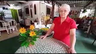 Vaso de Girassol com Garrafa pet | Vó Neide e suas pets