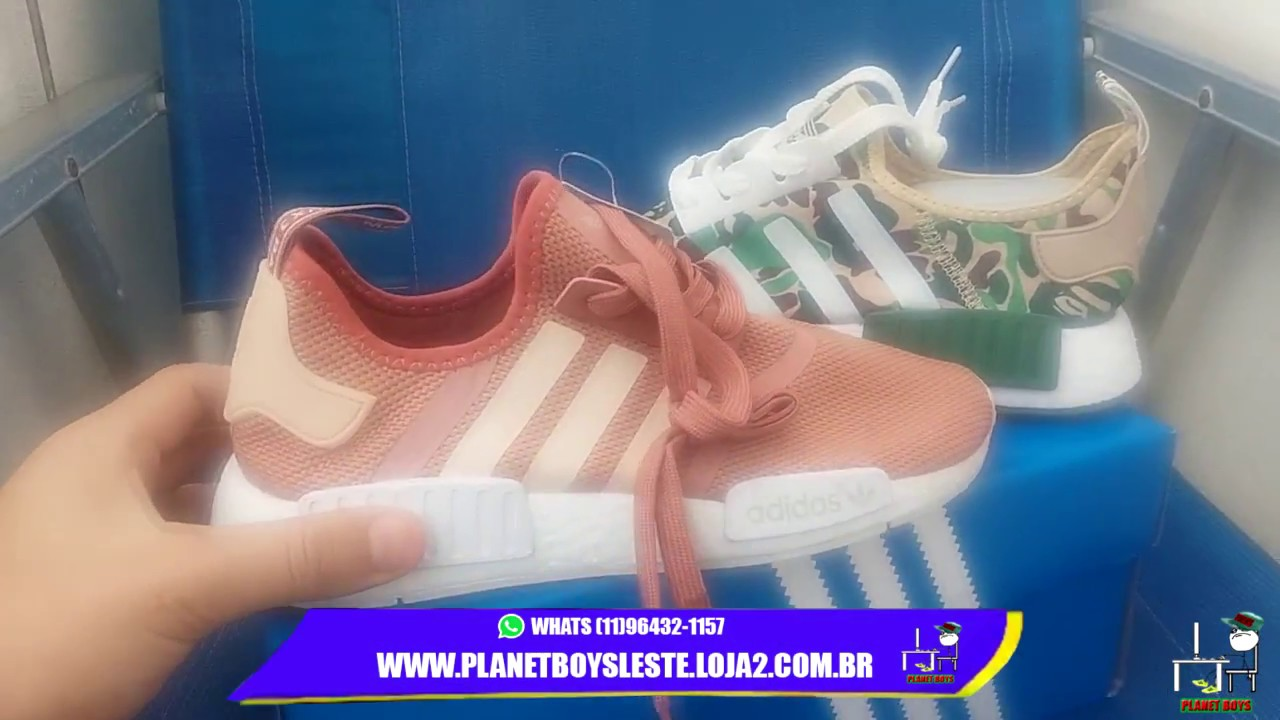 Adidas Nmd Replica X Original Entregas Planet Boys