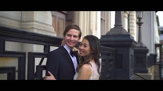 Quinn & Andrew : The George Peabody Library; Cinematic Wedding Highlight Film