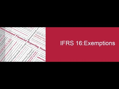 IFRS 16: Exemptions—Discussion with Board Member Sue Lloyd