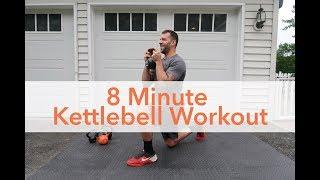Workout Video: 8 Minute Kettlebell Workout