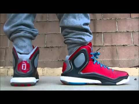Adidas D. Rose 5 BOOST on feet / foot (Brenda / L-Train)