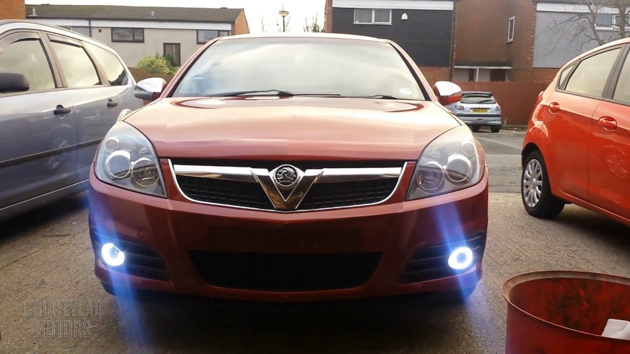 vauxhall opel vectra c led drls fitted with indicators. Black Bedroom Furniture Sets. Home Design Ideas