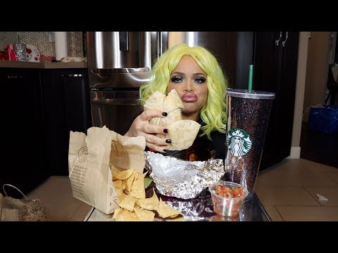 CHIPOTLE EATING SHOW