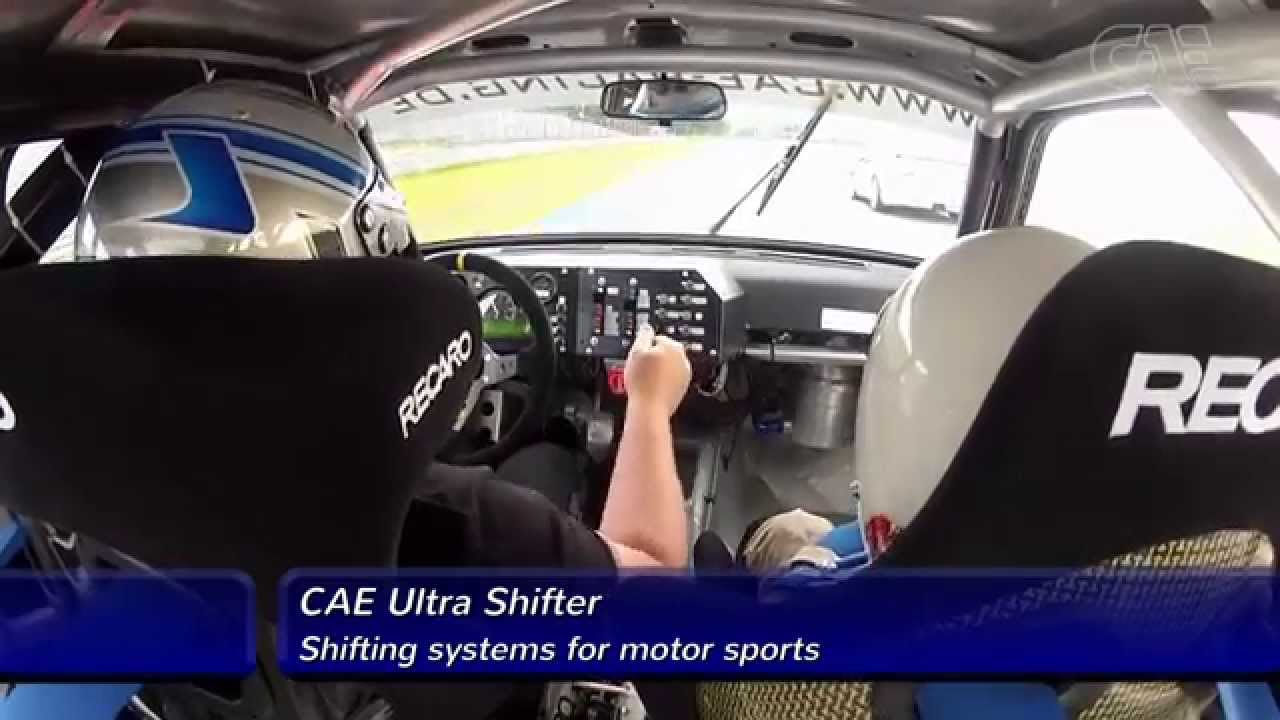 GETRAG Transmission with CAE Ultra Shifter - by CAE RACING