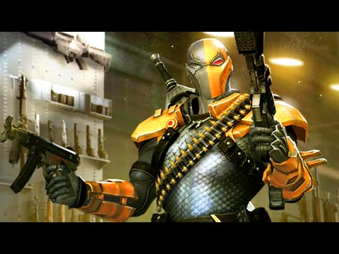 "DEATHSTROKE AWESOME CHALLENGES - Injustice ""Deathstroke"" Gameplay (S.T.A.R Labs Mission)"