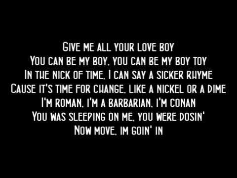 Madonna - Gimme All Your Luvin Lyrics