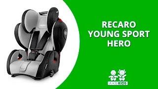 видео Обзор, отзывы и краш-тесты детского автокресла Рекаро Янг Спорт