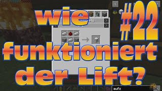 wie funktioniert der Lift in MeDuYaCraft #22 minecraft 1.10.2