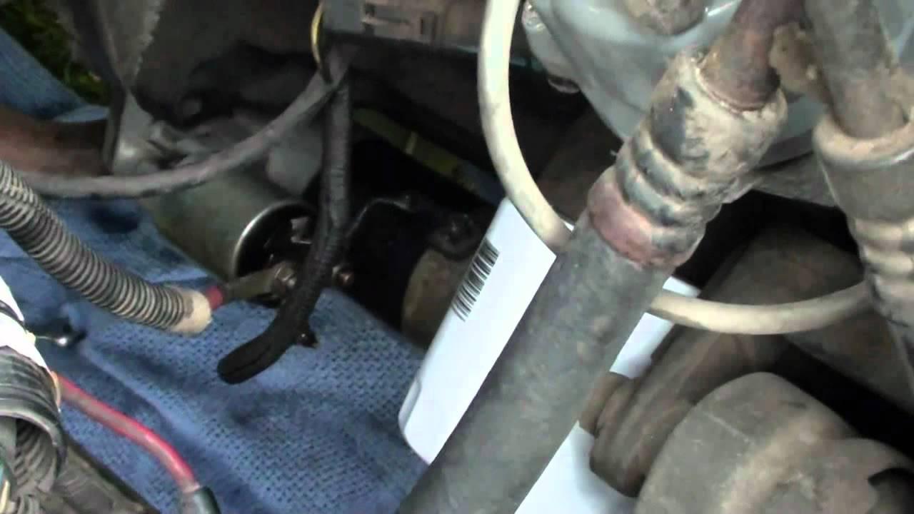 1995 Jeep Wrangler Starter Problem  YouTube