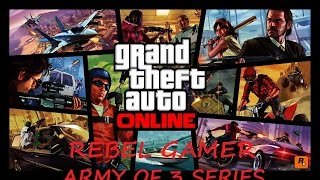 GTA Online - Contact Mission - Stocks And Scares - Lester - ARMY OF 3 - XBOX360