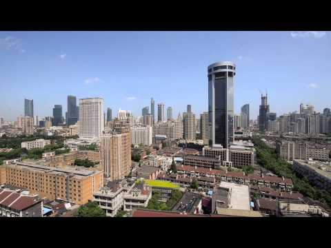 Shanghai skyline 2014 (Jing An, Luwan and Huangpu districts)