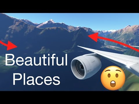 TOP 5 Most BEAUTIFUL PLACES To Fly