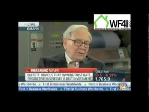 Warren Buffet on buying distressed property