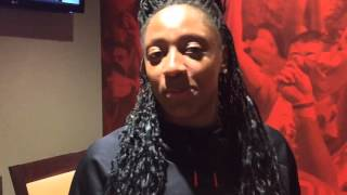 Ohio State's Kelsey Mitchell on praise