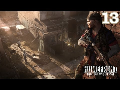Homefront The Revolution - Old Town - Restricted Zone - Gameplay Walkthrough Part 13 No Commentary