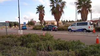 Fuerzas de Seguridad controlan accesos a Almendralejo (Badajoz)