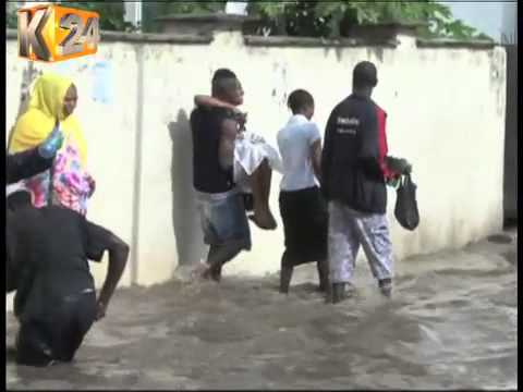Heavy Rains Render Roads In Mombasa County Impassable
