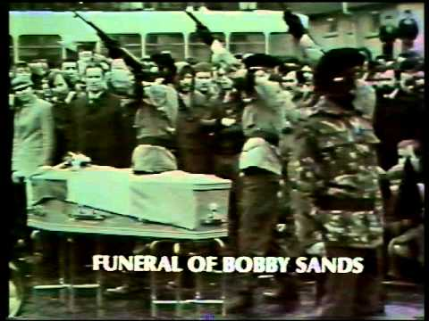 The funeral of Larry Marley