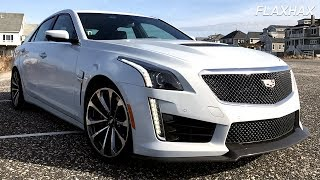 2018 Cadillac CTS-V Full Review - The $100,000 American Muscle Dream Car