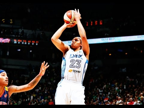 【诗疯出品】Maya Moore Offense Highlights